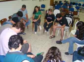 Estudantes evangélicos em evento de capacitação em Viçosa (MG)