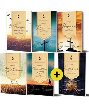 COMBO Lendo a Bíblia com John Stott -- Adquira todos os livros da série com um super desconto!