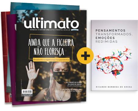 1 ANO ASSINATURA IMPRESSA + brinde livro Pensamentos Transformados, Emoções Redimidas -- Seu brinde vale R$34,90! Válido para NOVAS assinaturas