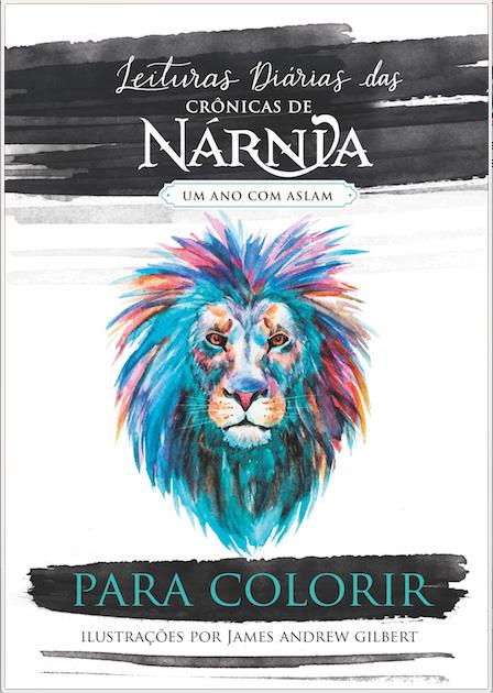 Para Colorir -- Ilustrações de Leituras Diárias das Crônicas de Nárnia
