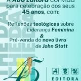ABU Editora: 45 anos de história